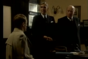 Goodnight Sweetheart Bank Scene