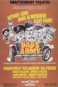 Dad's Army stage show poster