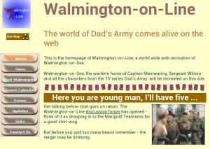 Walmington-on-Line in 2002